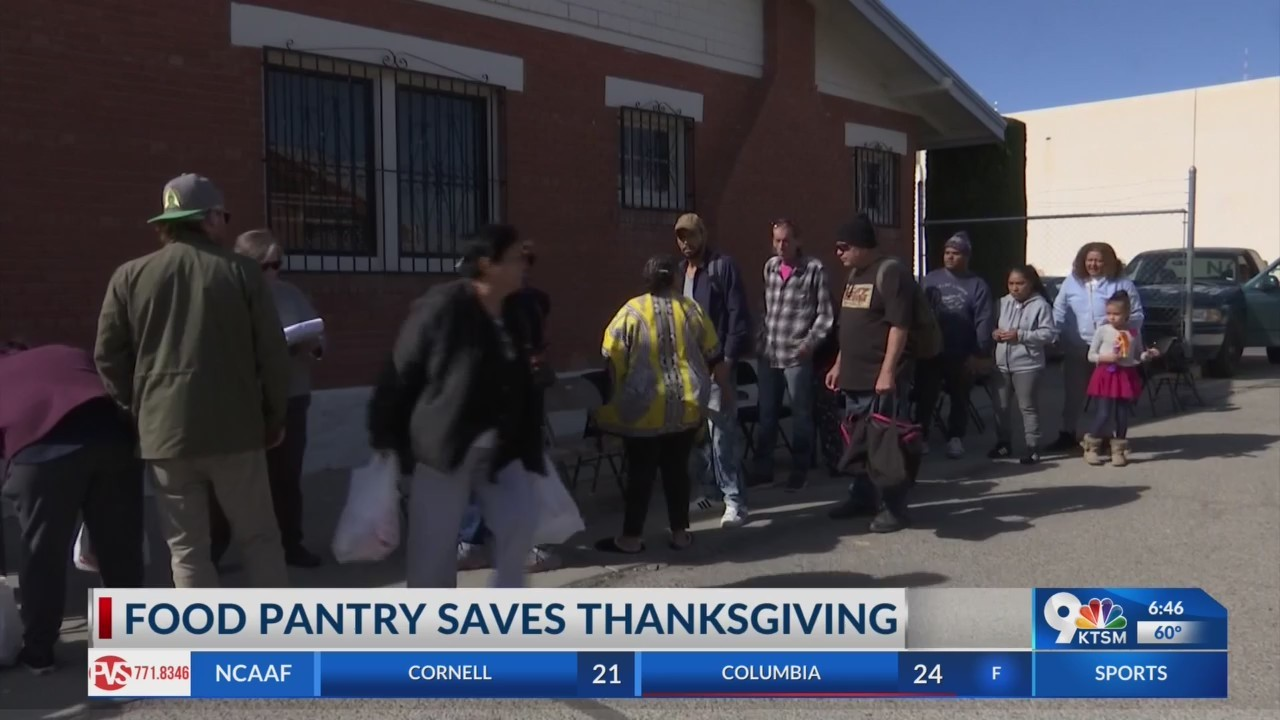 Borderland Rainbow Center provides turkeys to 100 thankful El Pasoans