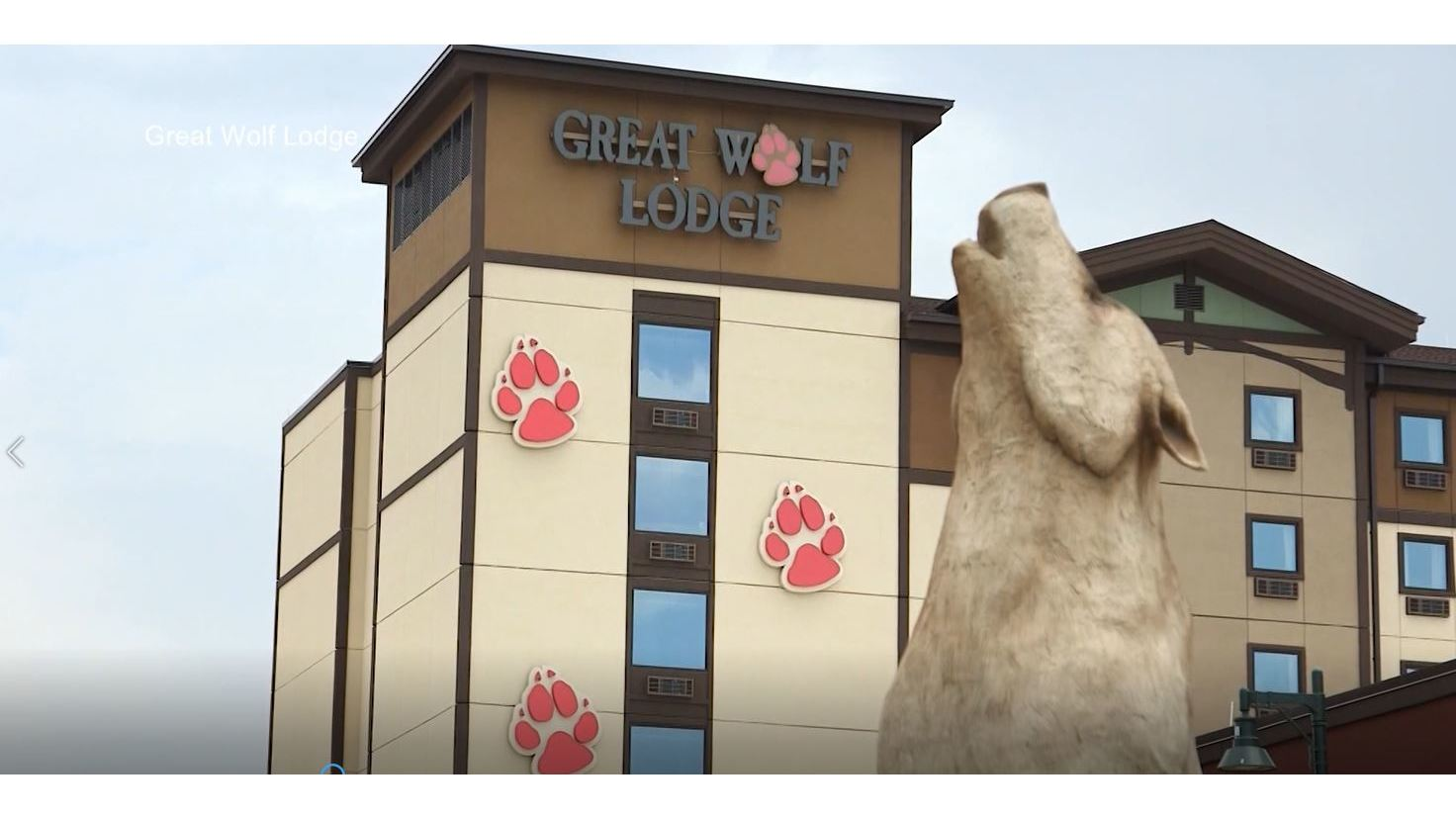 The City moves forward with Great Wolf Lodge project