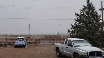 Snow in Las Cruces
