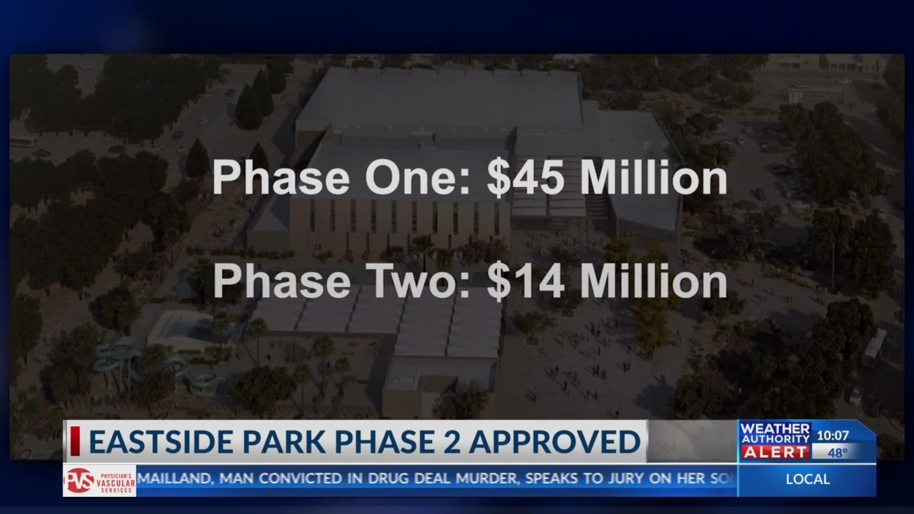 Eastside Regional Park phase two approved