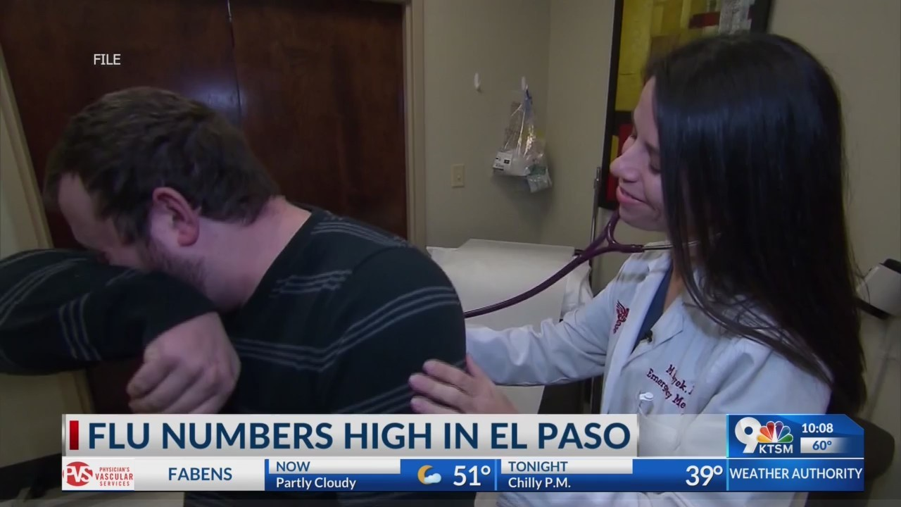 El Paso ranks number one in flu activity