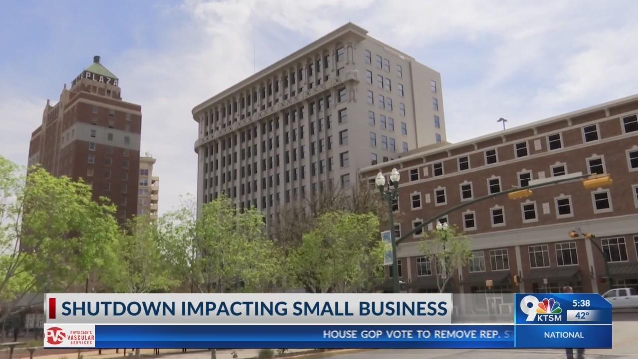 Government shutdown impacting small business