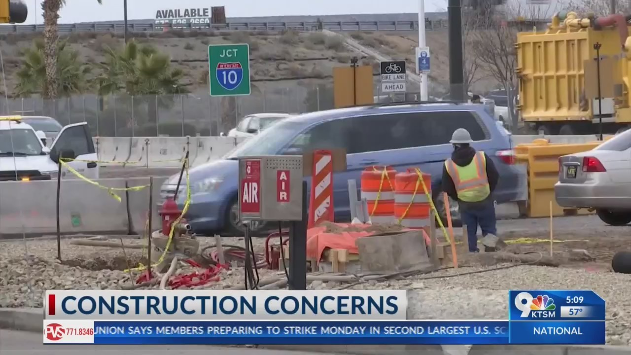 Las Cruces construction affects business's