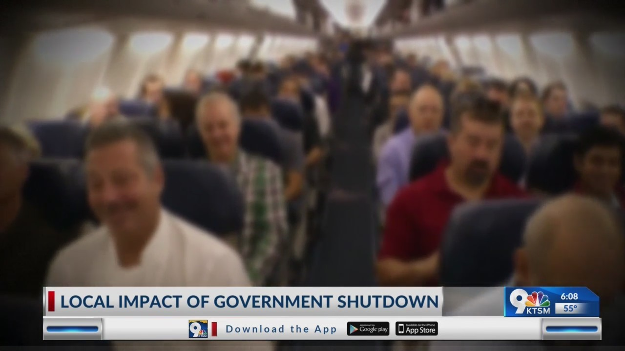Local federal employees face impact of government shutdown