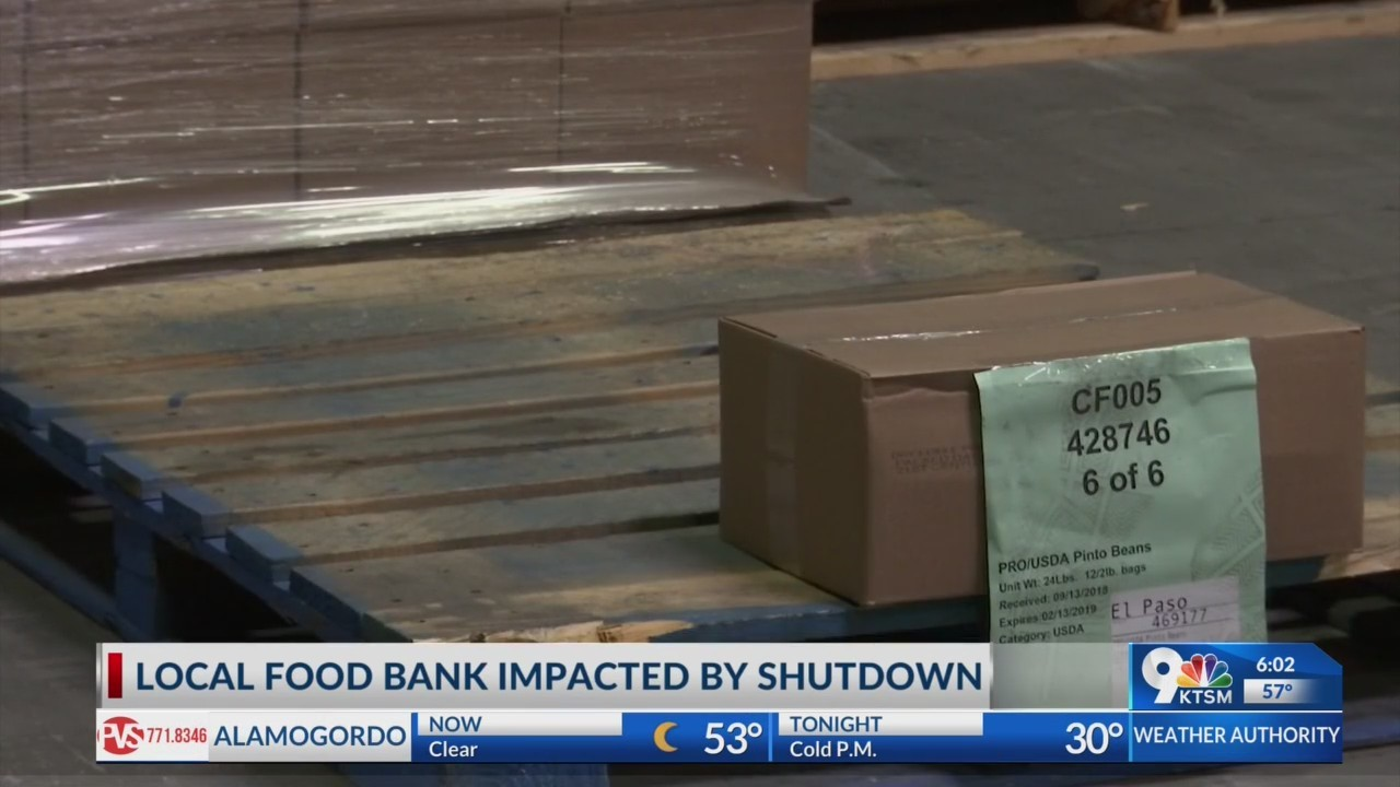 Local food bank works to keep food on shelves