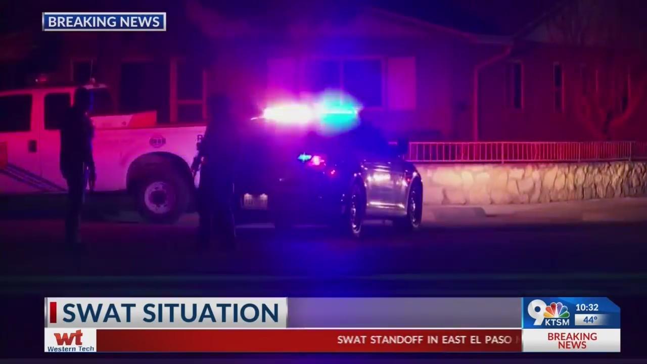 SWAT standoff in East El Paso