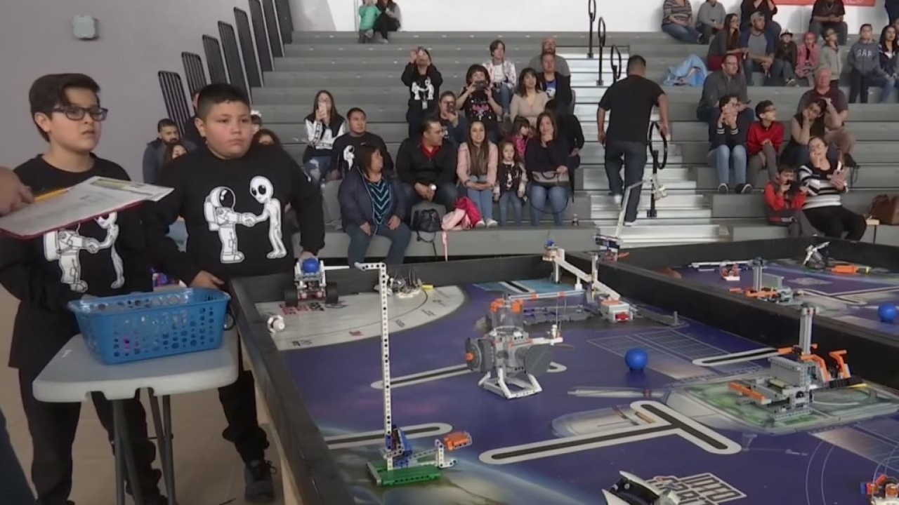 Socorro ISD students participate in out-of-this-world robotics competition