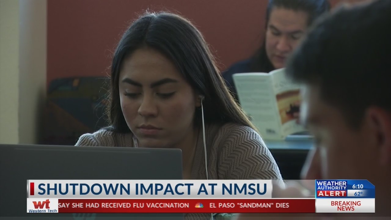 Students at NMSU see impact of government shutdown