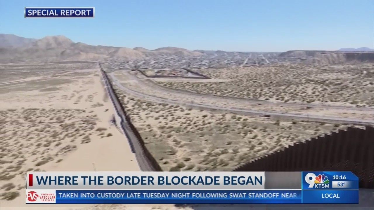 Where the Border Blockade began