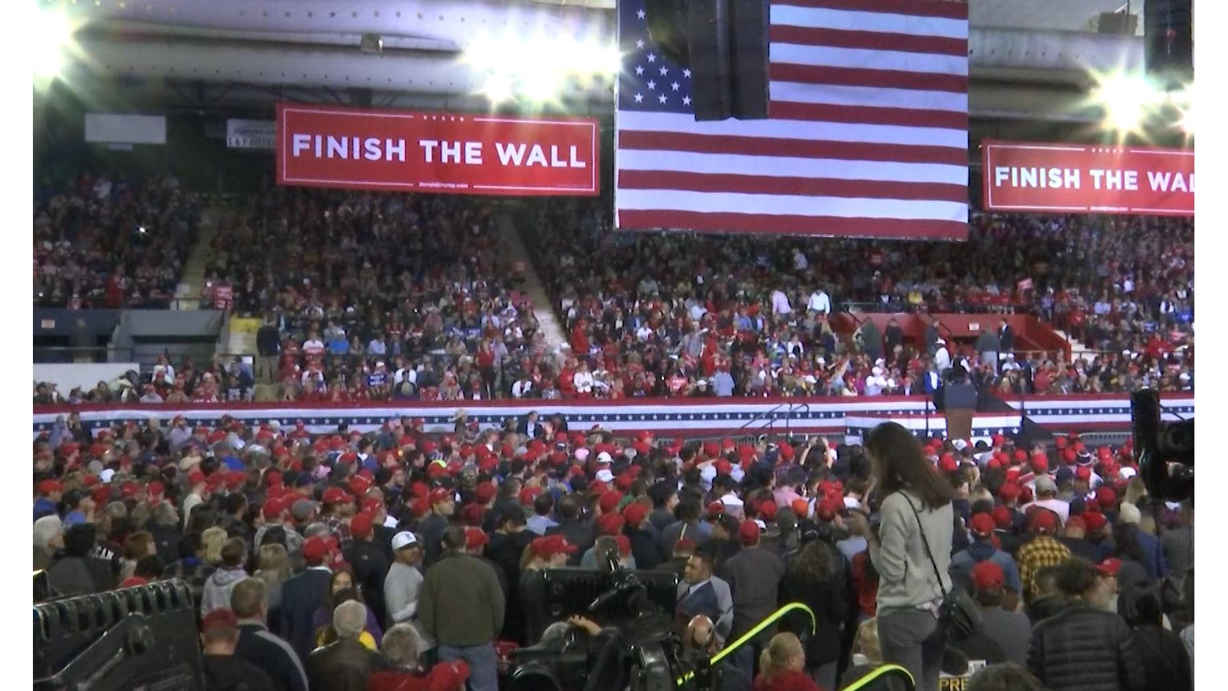 KTSM fact check over number of attendees at President Trump's 'MAGA' rally