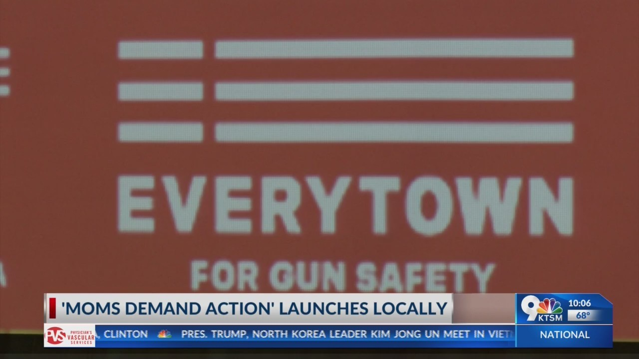 Nationwide organization launches chapter in El Paso to prevent gun violence