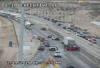 I-10 East reduced to one lane near Executive due to crash