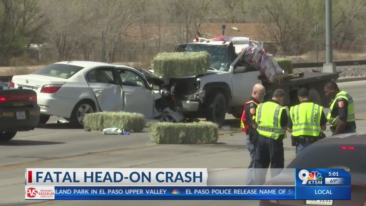 Deadly crash on Doniphan Drive