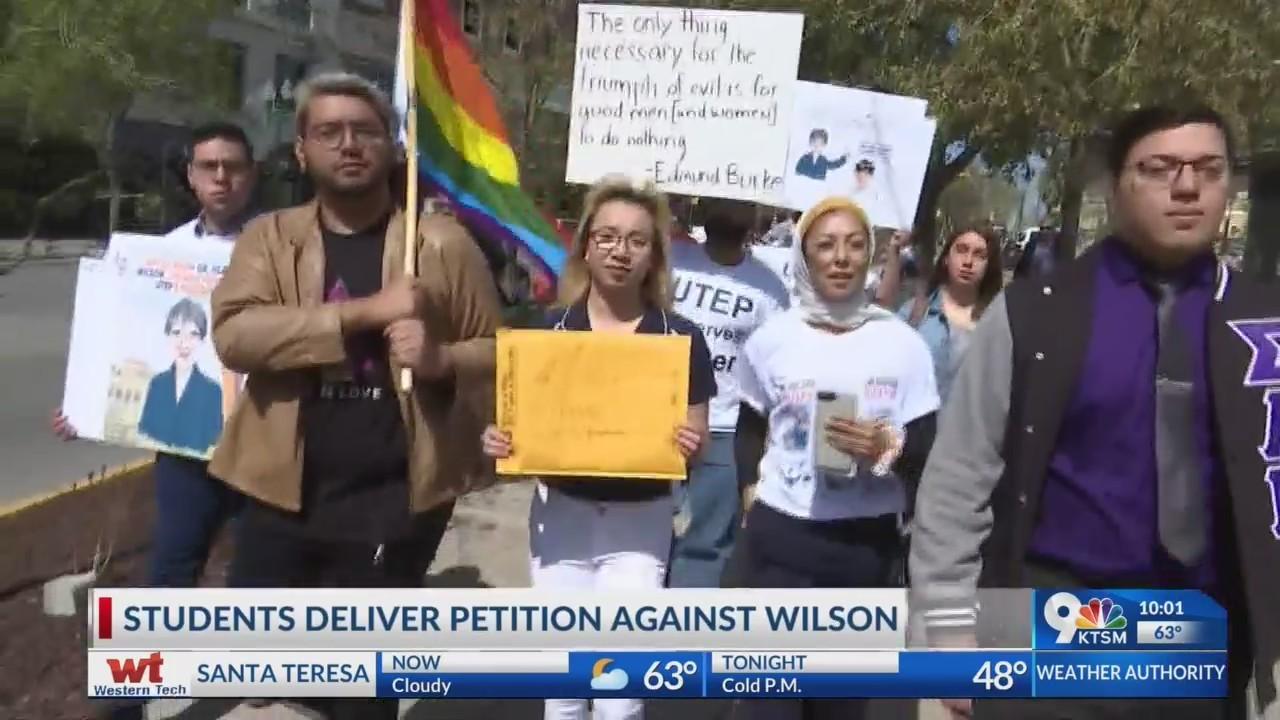 UTEP community rallies against president finalist Heather Wilson