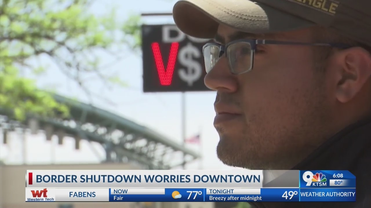 Downtown employee who crosses bridge for work; worried over possible border shut down