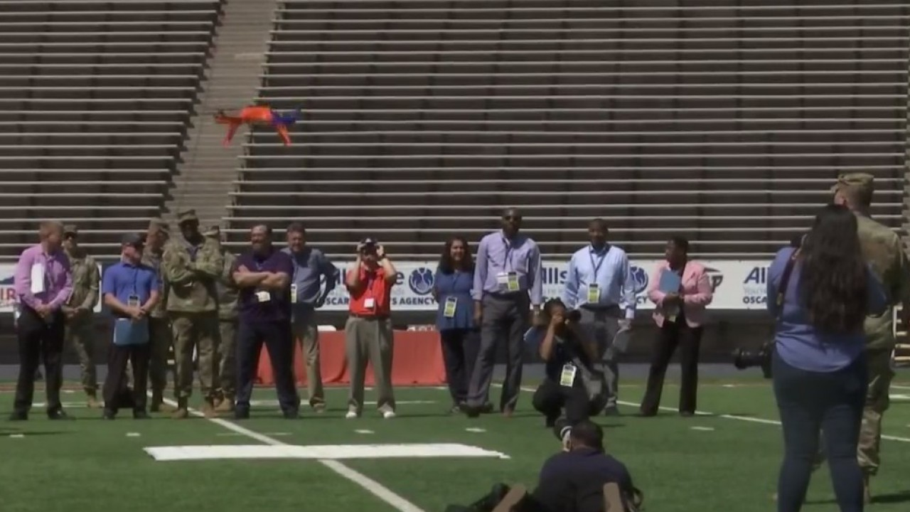 UTEP students soar in inaugural drone competition