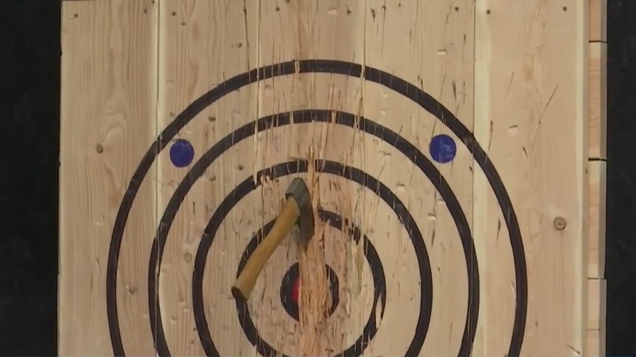 Local indoor axe throwing business set to open