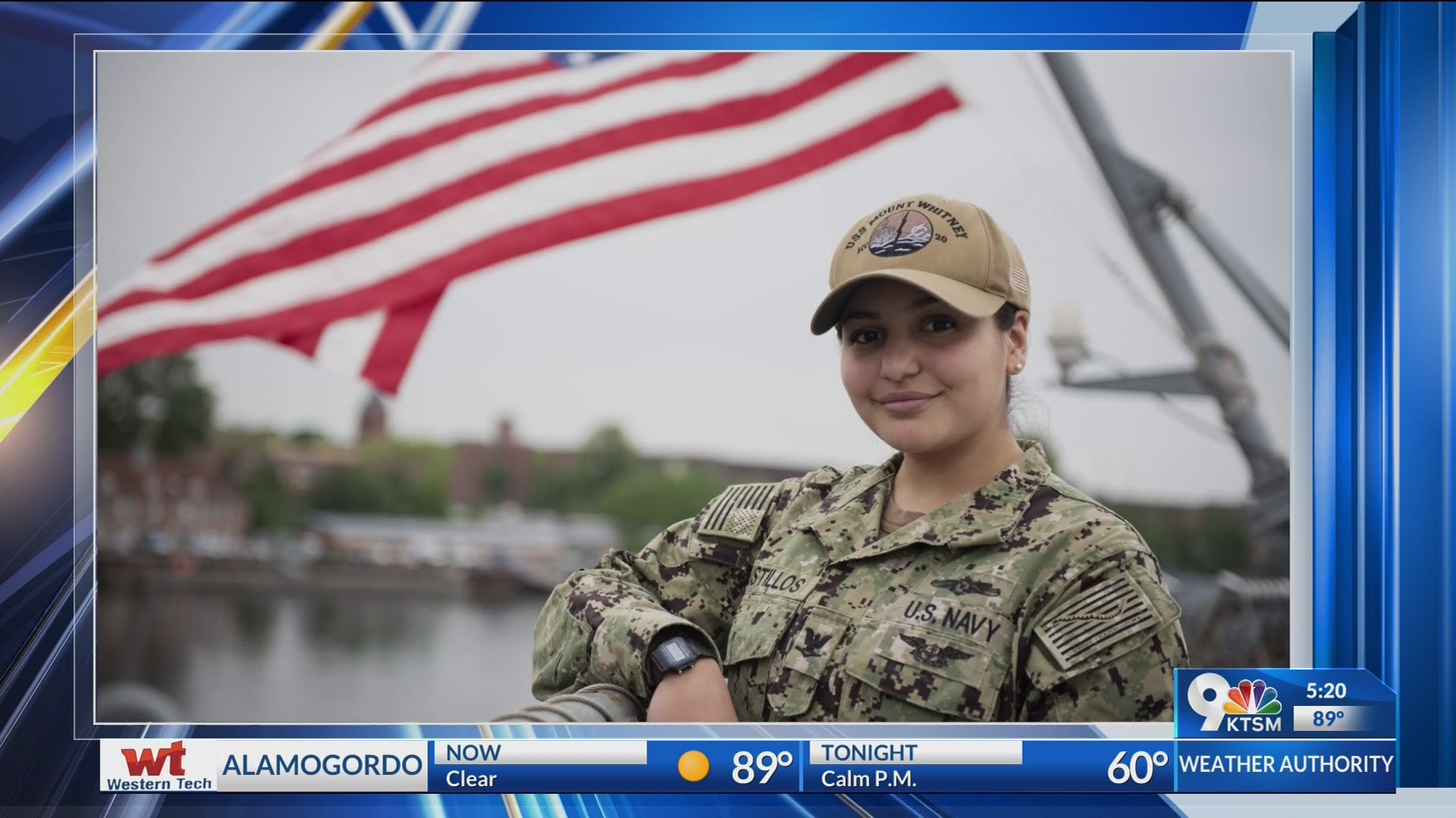 El Paso's diversity prepared petty officer for the Navy, world