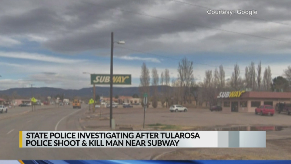 Otero County man killed in shooting with Tularosa police | KTSM 9 News