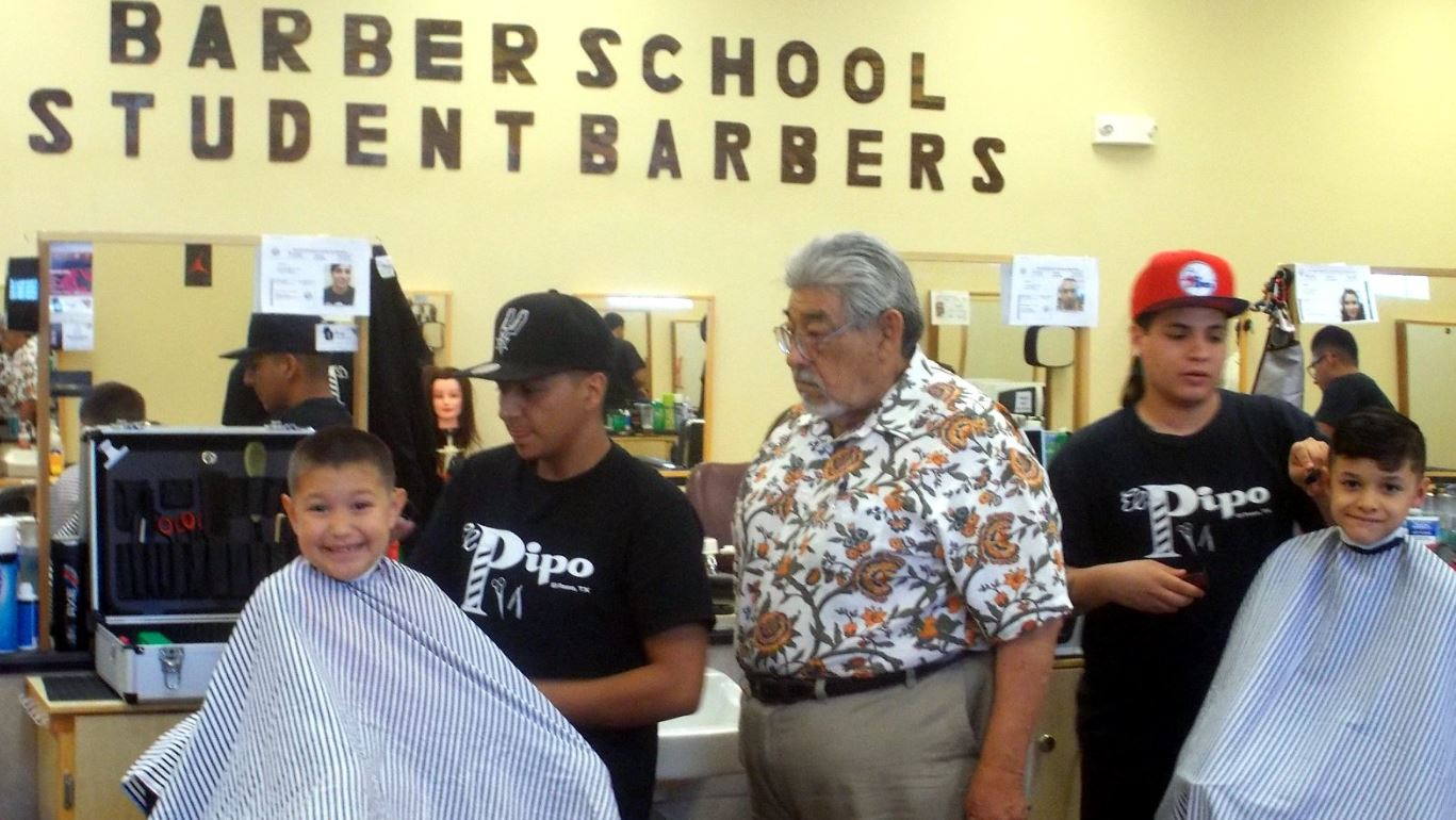 Central El Paso barber college offers free back-to-school