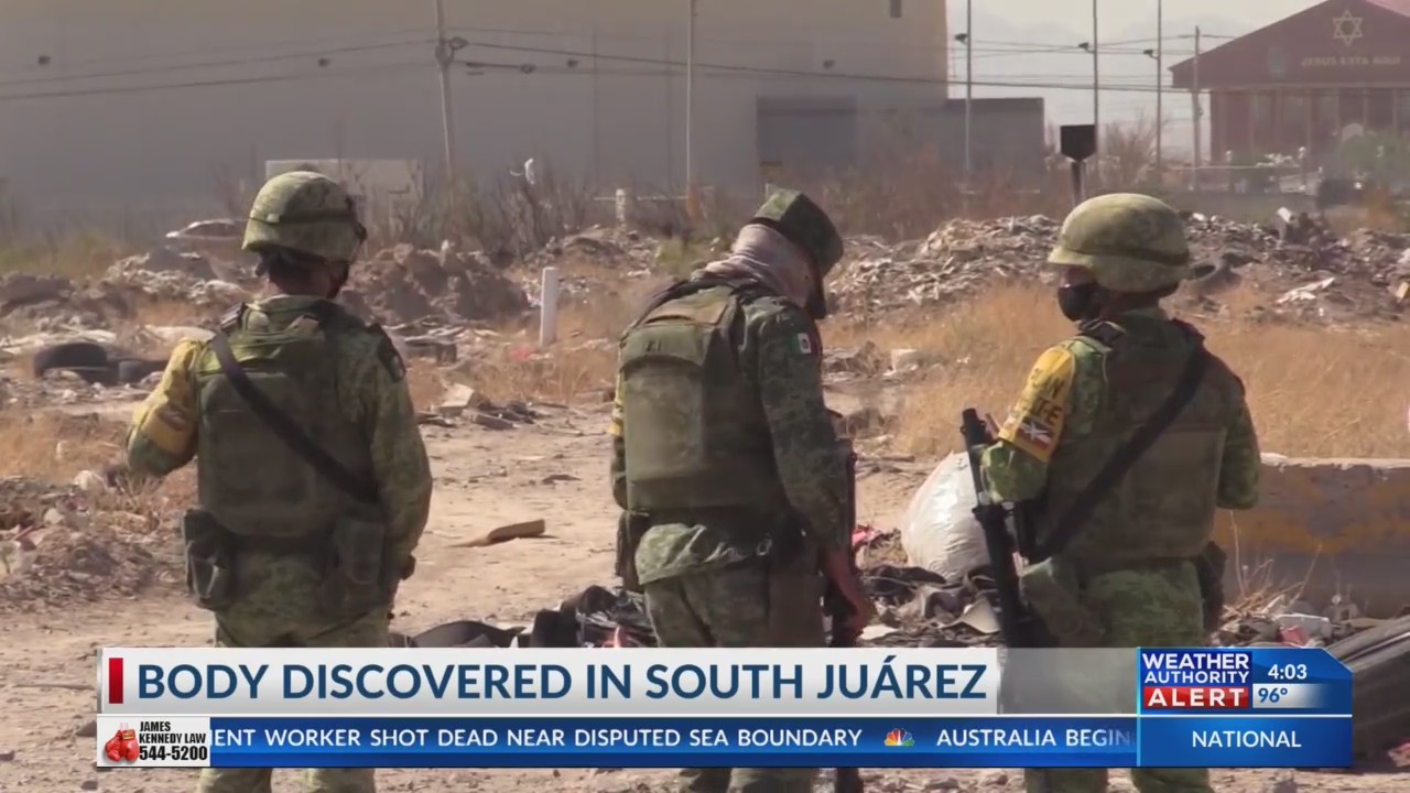 Body discovered in South Juarez
