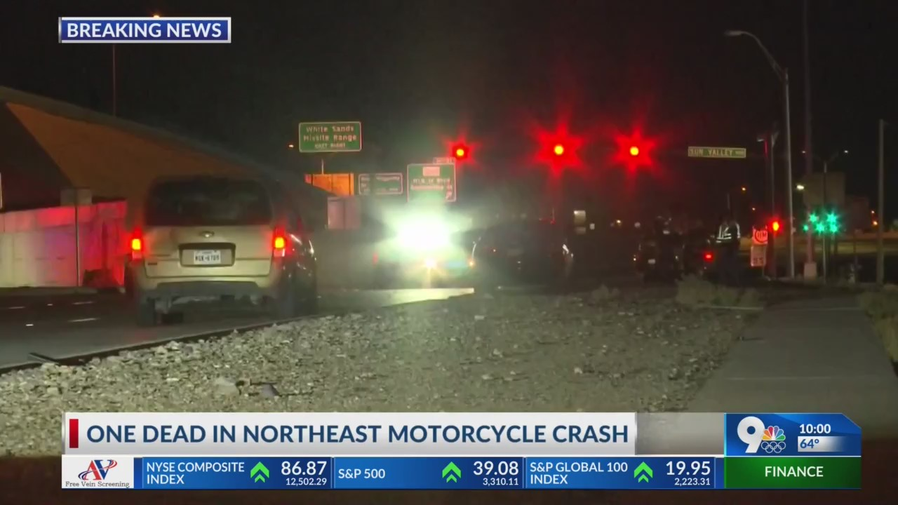 Gateway North and Sun Valley fatal motorcycle crash