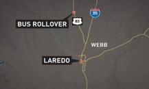 8 killed 44 injured in Texas rollover bus crash