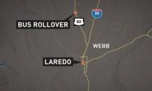 8 killed 44 injured in Texas rollover bus crash