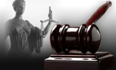 Lady Justice with court gavel