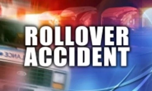 Milan teen hospitalized after Sunday rollover crash