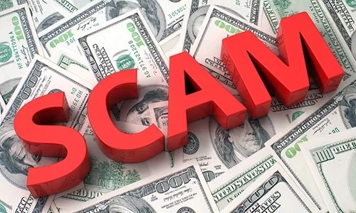 Scam Graphic