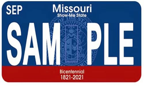 Missouri could soon become a one-plate state