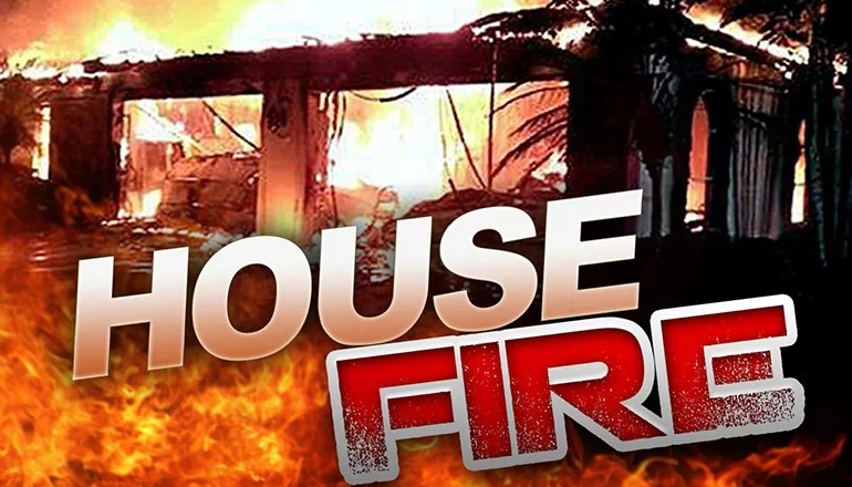 Fire destroys home in Laredo