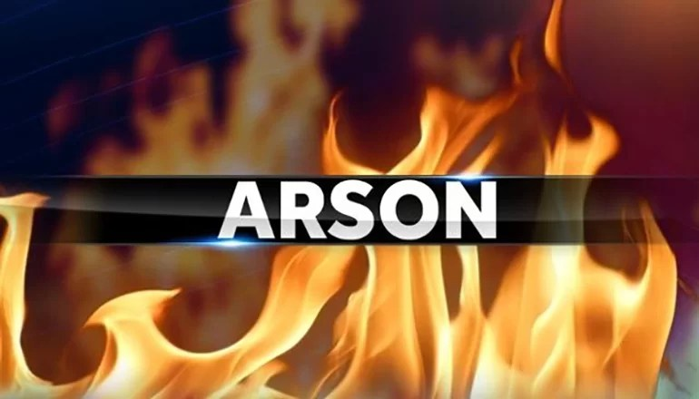 Bethany man charged with arson