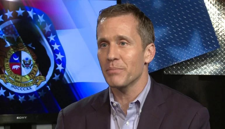 Audio: Governor Eric Greitens travels to Galt to announce high-speed internet initiative