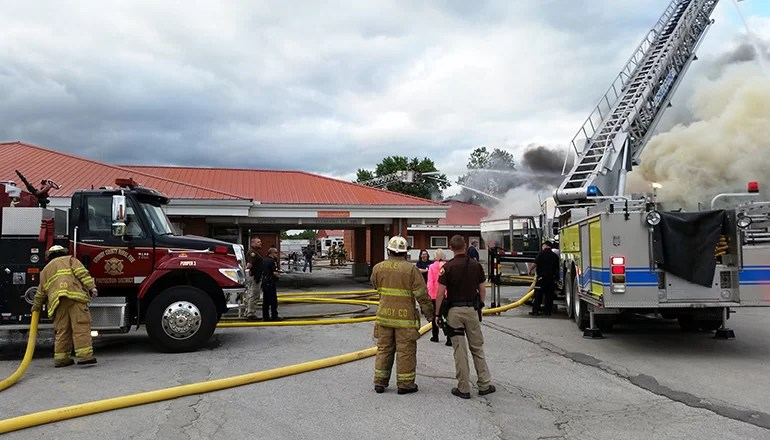 A Trenton landmark since 1964: Weekend fire claims Lakeview Motel