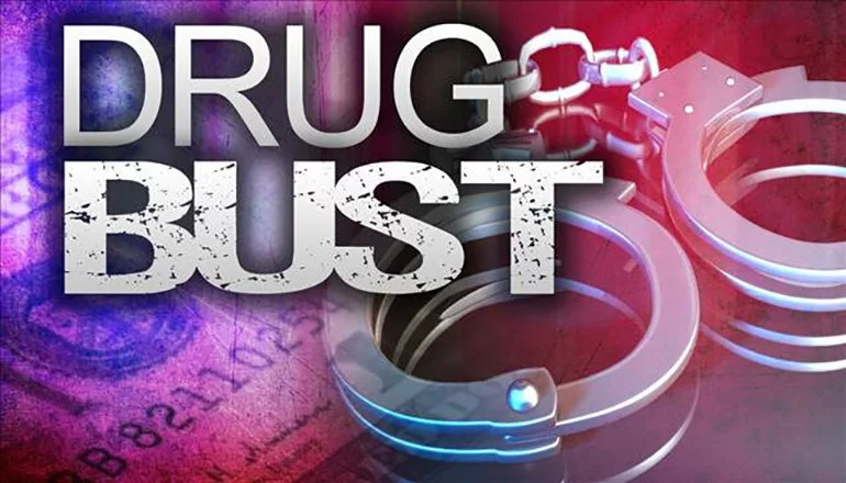 Two from Trenton arrested and charged on drug allegations