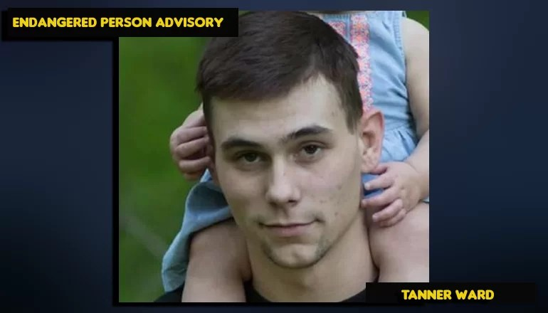 Endangered Person Advisory issued for Tanner Ward