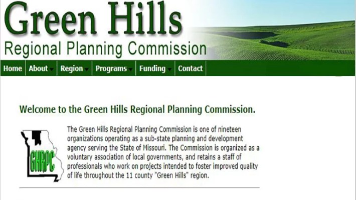 Green Hills Regional Planning Commission Website