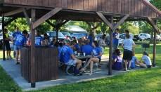 Chillicothe FFA Members meet at Schaffer Park