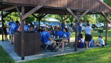 Chillicothe FFA Members meet at Schaffer Park