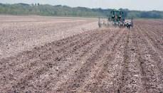 Farm Tractor land