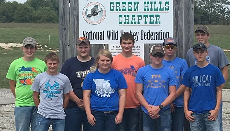 Chillicothe FFA Trap Shoot team receives first place honors