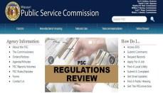 Missouri Public Service Commission Website