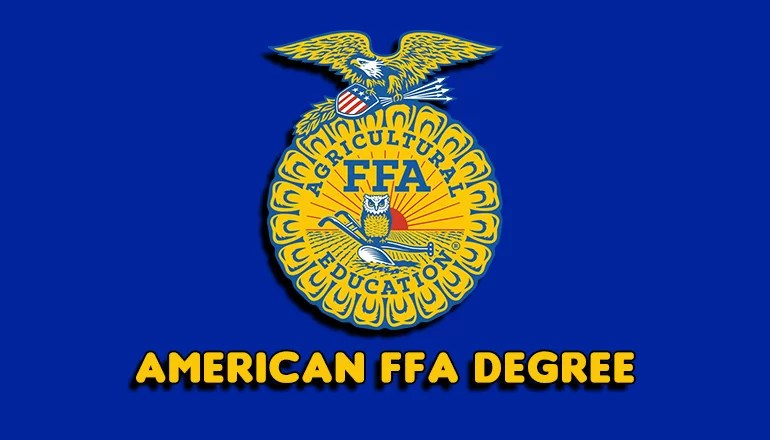 Area FFA members to receive American FFA Degree at National Convention