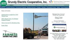 Grundy Electric Website