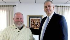 Peter Trombley and Doctor Lenny Klaver