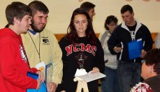 the Community Action Partnership of North Central Missouri recently provided a REALL poverty simulation to North Central Missouri College students on the NCMC campus at the Ketcham Community Center.