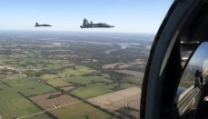 T-38 Trainers Fly Over Missouri