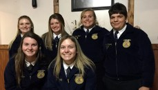 Trenton FFA Public Speaking Contest Entrants